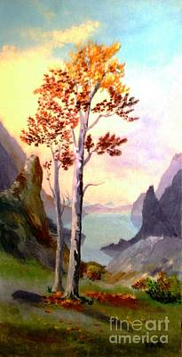 Autumn Aglow Art Print
