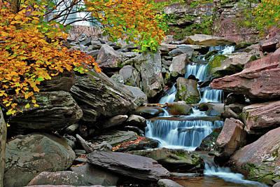 Catskills Photograph - Autumn At Kaaterskill by Rick Berk