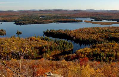 Autumn At Low's Lake Art Print
