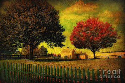 Photograph - Autumn At The Farm by Gina Cormier