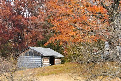 Photograph - Autumn Behind The Homestead by John Kiss