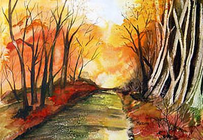 Painting - Autumn Blaze by Marsha Woods