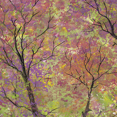 Painting - Autumn Blush by Flo Markowitz