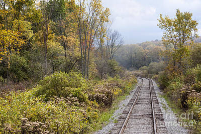 The Beatles - Autumn Countryside by Rail by Darleen Stry