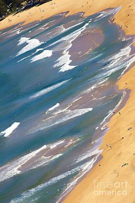 Autumn Day At Palm Beach Sydney Art Print by Avalon Fine Art Photography