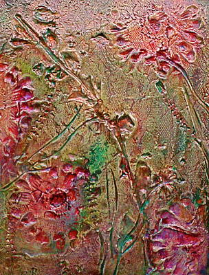Art Print featuring the painting Autumn Daze by D Renee Wilson