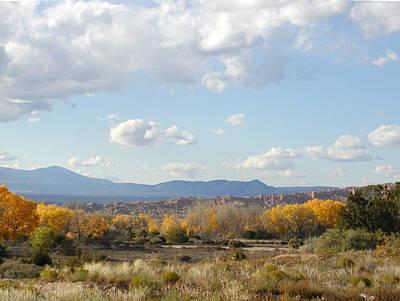 Photograph - Autumn Desert Valley by Kathleen Grace