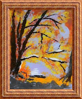 Autumn Dreaming  Art Print by Warren Thompson