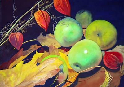 Robert Duvall Painting - Autumn Earth by Robert Duvall