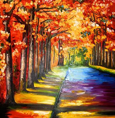 Painting - Autumn by Elizabeth Marks