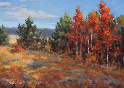 Pastel - Autumn Glory by Debra Mickelson