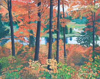 Painting - Autumn Glory by Joy Ballack