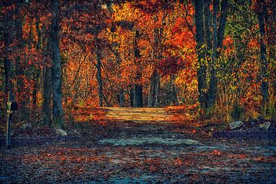 Autumn Has Arrived Art Print by Bill Tiepelman