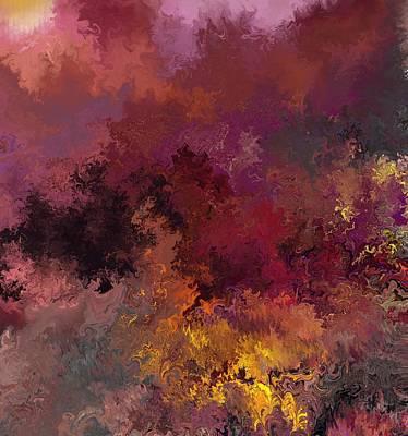 Mindscape Digital Art - Autumn Illusions  by David Lane