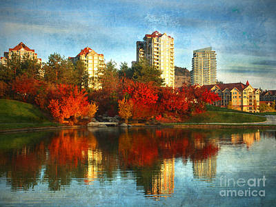 Kelowna Photograph - Autumn In The City by Tara Turner