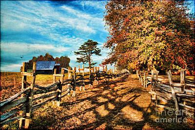 Impressionism Photos - Autumn in the Gap by Lianne Schneider
