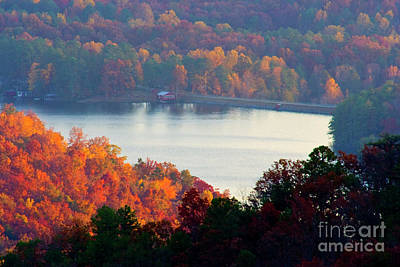 Photograph - Autumn Lake by Michael Waters