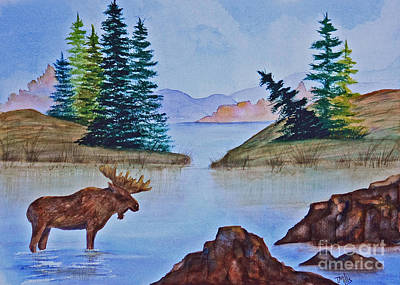 Painting - Autumn Lake by Terri Mills
