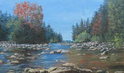 Painting - Autumn Landscape by Gene Foust