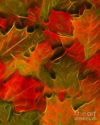 Autumn Leaves - Version 2 Art Print