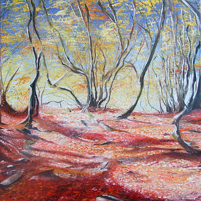 Painting - Autumn Light by Karen Hurst