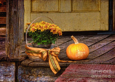 Autumn Art Print by Lois Bryan