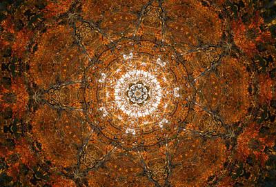 Edward Hopper - Autumn Kaleidoscope 3 by Rhonda Barrett