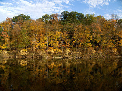 Photograph - Autumn Mirror by Rob Amend