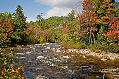 Photograph - Autumn On Swift River by Paul Mangold