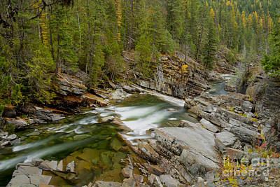 Photograph - Autumn On The Yaak by Idaho Scenic Images Linda Lantzy