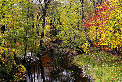 Autumn Over Kearsley Creek Art Print by Scott Hovind