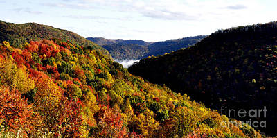 Roaring Red - Autumn Panoramic by Thomas R Fletcher