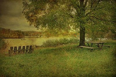 Autumn Picnic Art Print