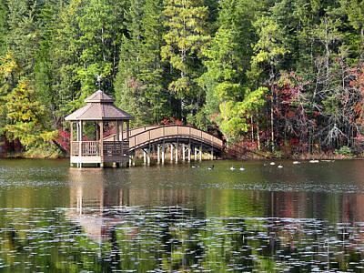 Photograph - Autumn Pond by Clara Sue Beym