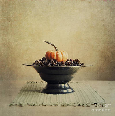 Pumpkins Photograph - Autumn by Priska Wettstein