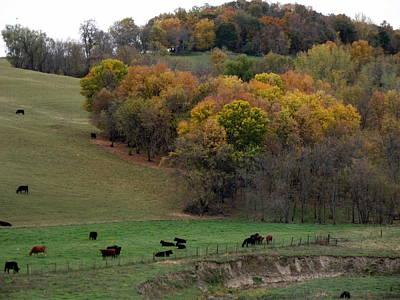 Photograph - Autumn Range by Bonfire Photography