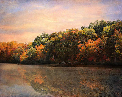 Autumn Reflections 2 Art Print by Jai Johnson