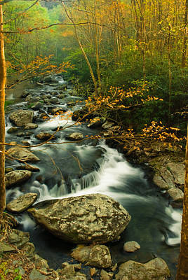 Photograph - Autumn River by Rick Hartigan