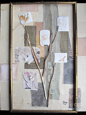 Mixed Media - Autumn by Sandy McIntire