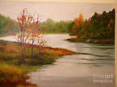 Painting - Autumn Serenity by Alice Gunter