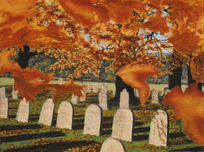 Painting - Autumn Serenity by William Frew