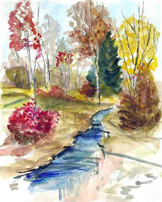 Painting - Autumn Splendor by Clara Sue Beym