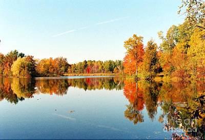Autumn Splendor Art Print by Crissy Sherman