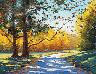 Autumn Splendor Art Print by Graham Gercken