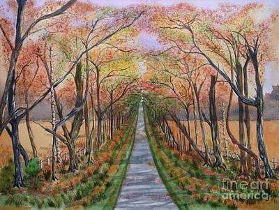 Painting - Autumn Splendour by Yvonne Johnstone