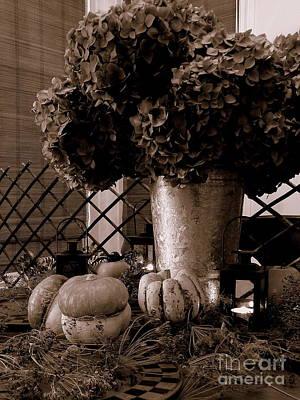 Autumn Still Life  3 Art Print by Tanya  Searcy