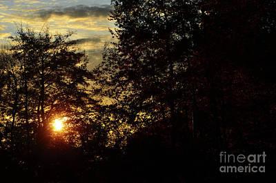 Autumn Sunset 1 Print by Bruno Santoro