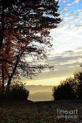 Autumn Sunset 2 Print by Bruno Santoro