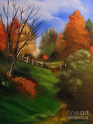 Painting - Autumn Trail  by Crispin  Delgado