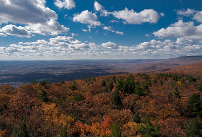 Shawanagunk Mountains Photograph - Autumn Vista by Jim DeLillo